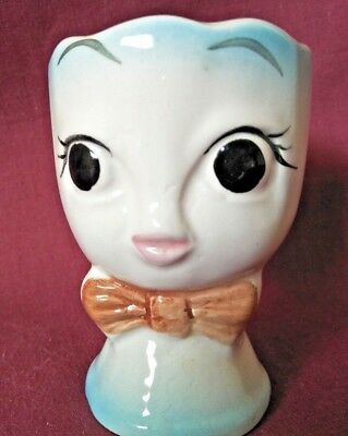 Cute Girl Face Egg Cup