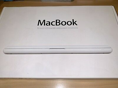 """Apple MacBook White13"""" with Original Box and New Charger"""
