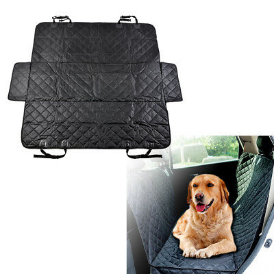Waterproof Pet Car Seat Cover Dog Safety Mat Cushion Rear Back Seat HammockPS218