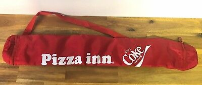 Vintage Retro Pizza Inn Promotional Coca Cola Can Carrier Bag Sleeve