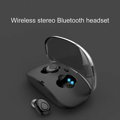 Mini True Wireless Sport Earphones BT Earbuds Twins In-Ear Stereo Headset