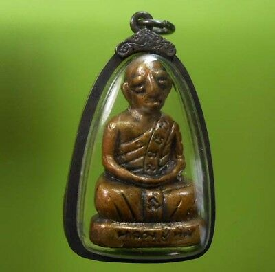Perfect Statue Lp Tim Old Thai Buddha Amulet Very Rare !!!