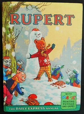 Vintage Original 1961 Rupert Bear Annual, Price Unclipped 5/-