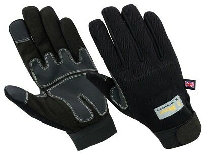 KYB® Strong Grip Padded Builders Max Performance Safety Working Mechanics GLOVES