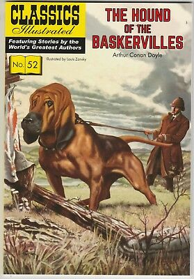 Classics Illustrated THE HOUND OF THE BASKERVILLES #52 (2009) VFN/NM