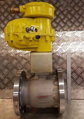 "4"" Stainless Steel Flanged Worcester Actuated Ball Valve"