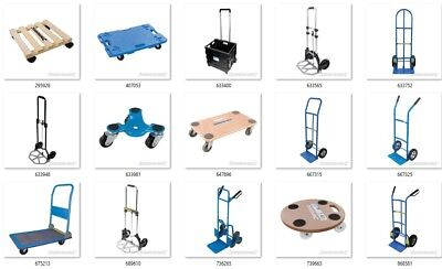 Sack Truck, Dolly, Furniture Skates, Platforms Hand Trucks Manual Handling
