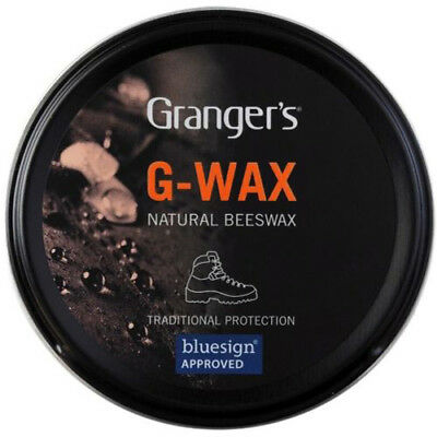 Grangers G-Wax 80g Leather Shoe/Boot Waterproofer Proofer Beeswax Polish Tin