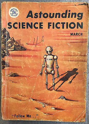 Astounding Science Fiction – 1956 x 3 1956-7 Acceptable reading condition