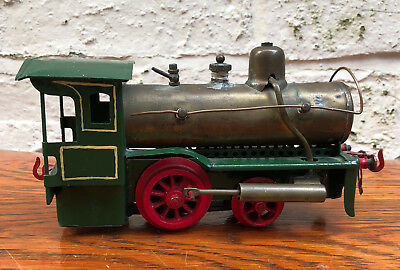 German Spirit Fired Locomotive Schoenner ? Carette ? Planck ? Bing ? Marklin ?