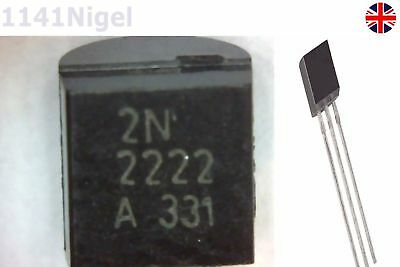 2n2222-1st Class Post To-92 25 X 2n2222a Npn Transistor