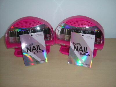 2 Color Workshop Nail Dryer 7PC & Polish Collection.  BNWT two items.