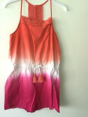 BNWT Beautiful  Mantaray Girls Dipdye Playsuit Aged 9