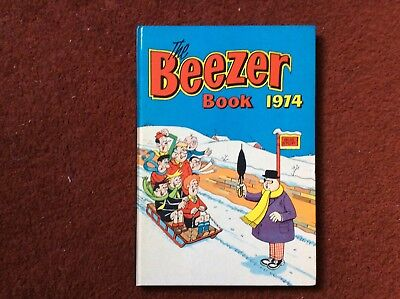 The Beezer Book Annual 1974