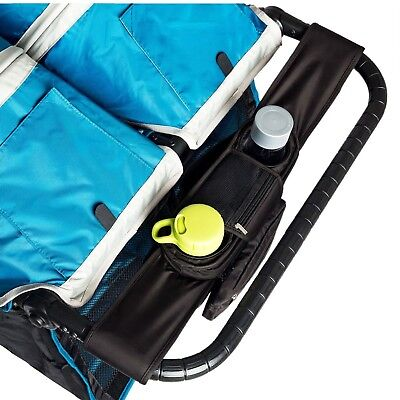 BEST DOUBLE STROLLER ORGANIZER for Smart Moms, Fits Both Double & Single Stro...