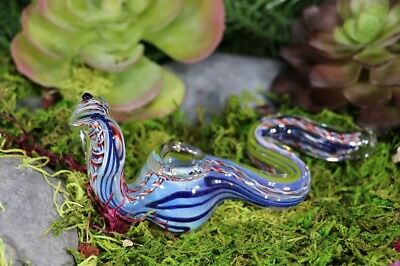 "5"" COLLECTIBLE Snake Character TOBACCO Smoking Pipe Herb Bowl Glass Hand Pipes"