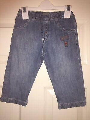Baby Boys Designer Warm Winter Timberland Lined Jeans Age 9 months