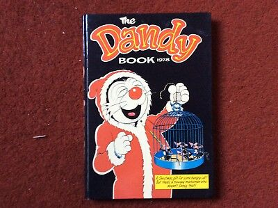 The DANDY Book Annual 1978 Hardback Vintage unclipped