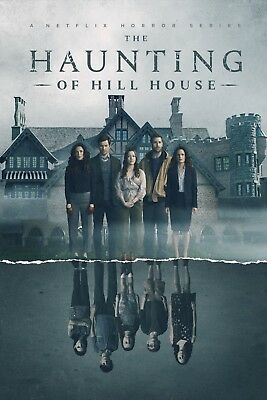 The Haunting of Hill House Horror Print Poster Wall Art  A4-A3-A2-MAXI-641