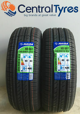 X2 New Tyre 205 55 R16 91V M+S Boto Genesys With Amazing C+E Rating