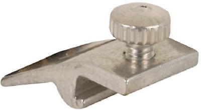 PRIME LINE PRODUCTS Storm Door Panel Clips, Mill Finish, 3/8-In. Depth, 4-Pk.