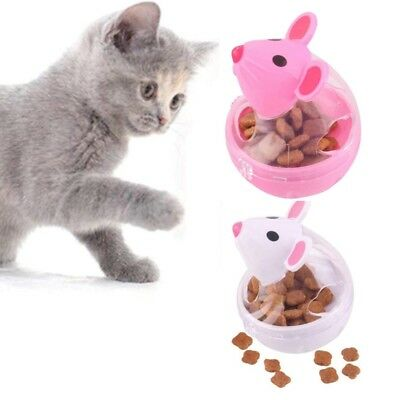 Pet IQ Treat Ball, Tumbler Interactive Food Dispensing Feeder, Slow Chewing A8I3