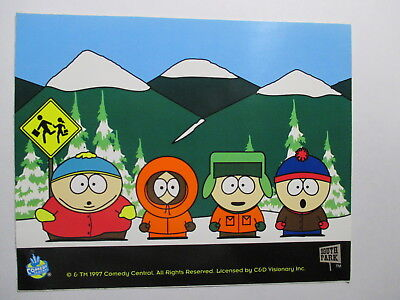 South Park Decal of Cartman, Kenny, Kyle and Stan