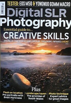 Digital Slr Photography - November  2018 - Issue 144