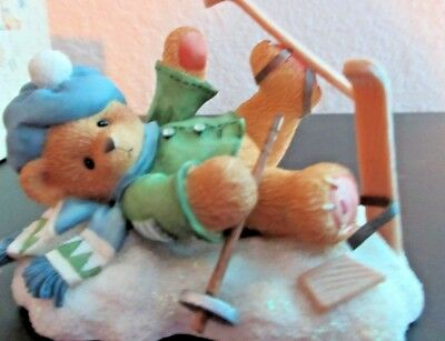 """Cherished Teddies-Spencer  """"I'm head over skis for you"""""""