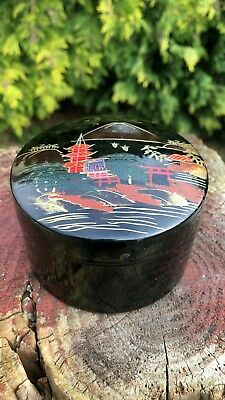 Beautiful Antique Vintage Retro 6 x Chinese Oriental Decorative Coasters *
