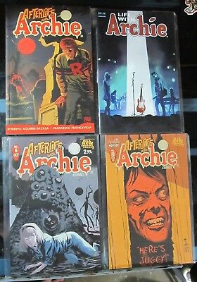 Afterlife With Archie Comic Lot 6 Sabrina 8 Book One Life With  36 Death Of