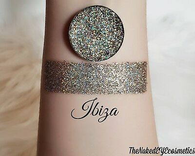 Pressed Glitter Eyeshadow Holographic [Ibiza] Cosmetic Glitter