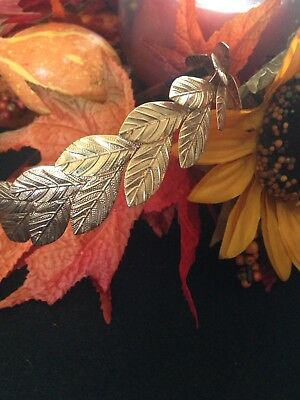 Lovely Vintage Headband with Leaves