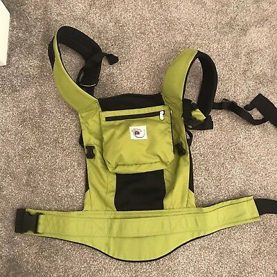 ergo baby carrier used
