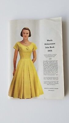 Montgomery Ward 1954 Midsummer Catalog