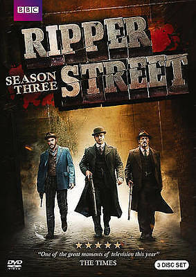 Ripper Street: Season 1-3  dvd  brand new