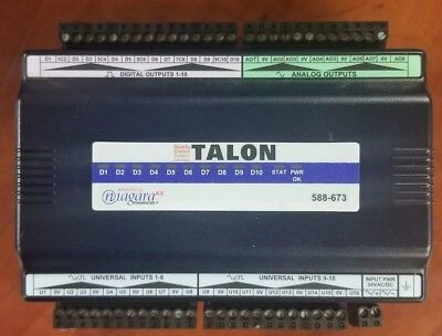 Talon 588-673, JACE IO-34 Powered By Niagara AX