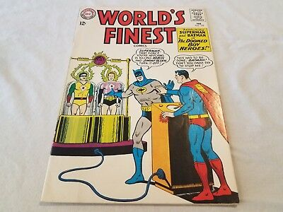 1965 World's Finest #147 Batman and Superman 12 Cent Silver Age DC Comic Book