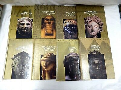 Time Life Books Lost Civilizations Set of 20