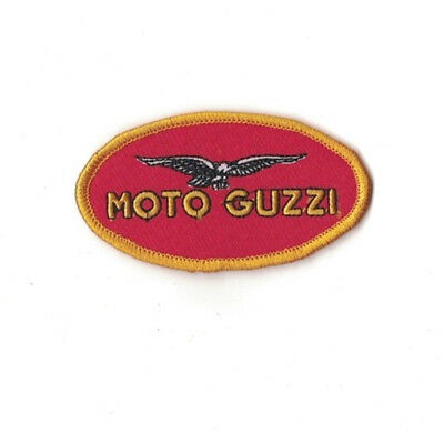patch moto guzzi 8.5/4.5cm , broder et thermocollant