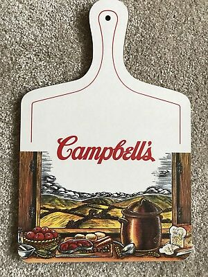 Vintage Campbell's Soup Collectors Chopping Board (f)