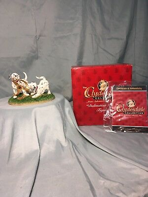 """Budweiser Clydesdale Collection """"2002 Dalmatian Puppies"""""""