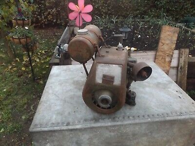 old vintage villiers  engine  with reduction box