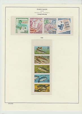 U.S. 1986 Commemorative Year Set, 31+5 items (4 Scans) Complete, mNH Fine