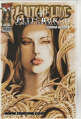 WITCHBLADE #40 PREVIEW- PITTSBURGH CONVENTION EXCLUSIVE - Ltd to 5000 - 9.4 cond