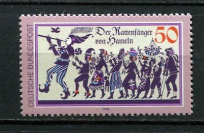 Germany - BRD : Pied Piper of Hamelin stamp from 1978 - mint NH