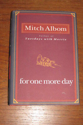 For One More Day by Mitch Albom hardcover/dj
