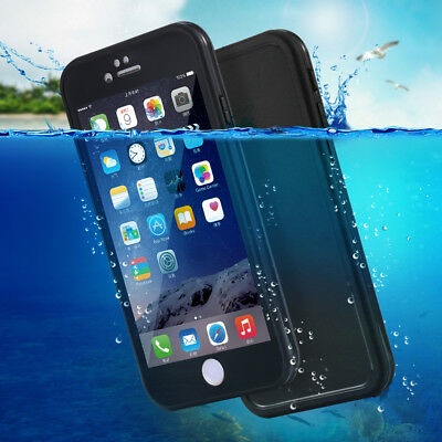 Waterproof Shock Proof Hybrid Rubber TPU Case Cover For iPhone6s 6 plus 7 8 X