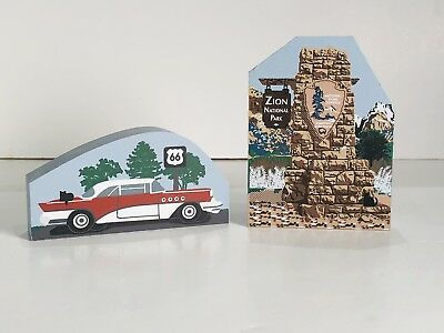 Cats Meow Village Lot Of 2