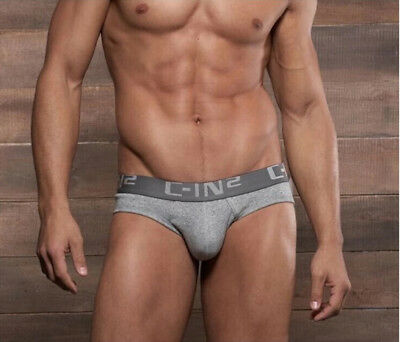 mens cotton sports underwear low rise bulge pouch briefs underpants